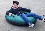 Lent 2018 1st Weekend - snow tubing in Bracknell