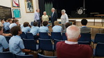 Two Holocaust survivors tell year 8 what it was like.