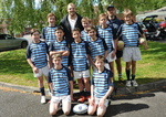 Old Papplewick Boy - James Haskell - visits the boys!