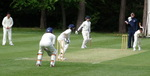 1st XI in action in the field against Daneshill