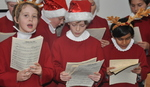 2nd Choir open the Fair with some Christmas carols.