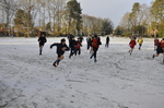 Snow - rugby practices go on!