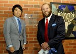 Willow House Official opening - James Haskell