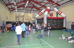 The Sports Hall filled with fun.