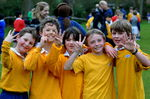 1st 5 places all from St Michaels - look at their fingers to see who finished in what position.