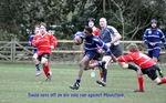 David runs in a try against Moulsford.