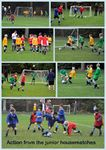 Some of the action from the Junior Housmatches