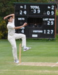 1st XI action vs Daneshill - Papplewick won.