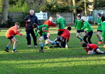 Junior rugby housematch action