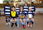 Trophy Winners of the under 10s Interschool Football Tournament